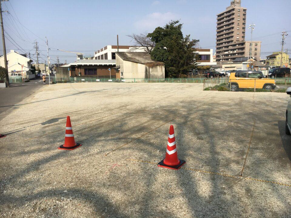 月極駐車場整備工事